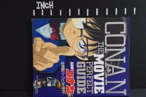 Detective Conan The Movie Perfect Guide Book JAPAN Case Closed