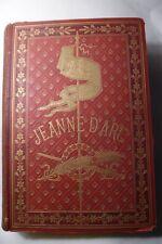 JEANNE D'ARC BY HENRI WALLON 1883 EDITION 14 CHROMOLITHOGRAPHES