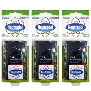 3-X-Neutradol-Super-Fresh-Car-Home-Truck-Odour-Destroyer-Air-Freshener