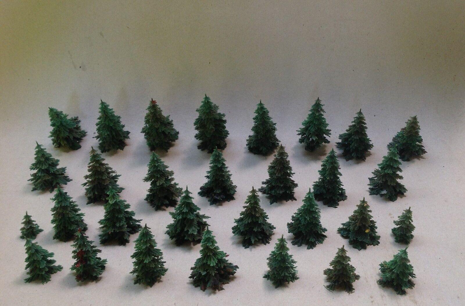 5  30x Busch & Co in plastica per albero modello ferroviario traccia ho/00 Elastolin lineol