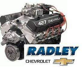 GM OEM NEW Chevrolet Performance ZZ427/480 HP Crate ...