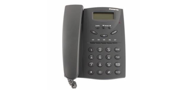 Fully Refurbished Inter-tel Encore ECX 100 618.5011 Analog Phone (Charcoal)