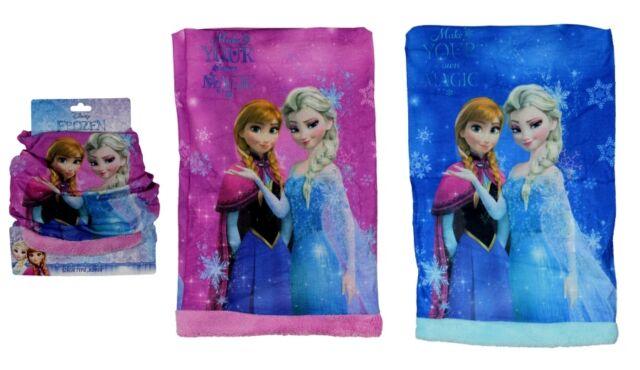 Eiskönigin Schlauchschal Snood Schal Tuch Mütze Anna Elsa Halstuch Frozen Disney