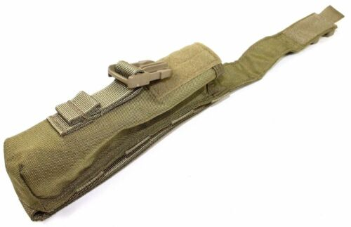 Eagle Allied Industries SFLCS Khaki Tan Buckle Pop Flare Pouch SILENCER MLCS NSW