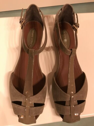 Marco 38 Damen Neu Leder Schuhe 5 Größe Polo Ungetragen 5054Ugnrqx