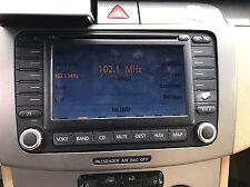 2006-2009 VW PASSAT GPS NAVIGATION DVD SCREEN CD PLAYER RADIO 1K0035197C OEM