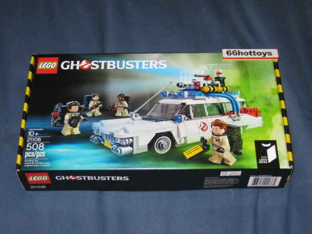LEGO Idéer 21108 Ghostbussters 30th ECTO -1 begränsad rödigering Ny