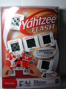 NEW HASBRO YAHTZEE FLASH Electronic Game Batteries Included