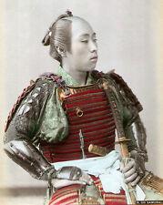 "Samurai Warrior 1890 Classic Repro Photograph 6x5"""