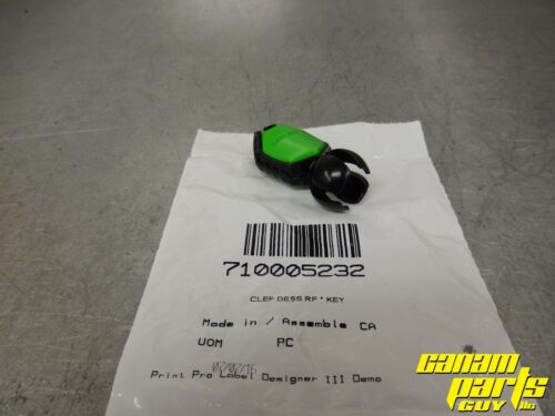 Can Am Maverick X3 Outlander Renegade Green RFID Ball Ignition Key 710005232