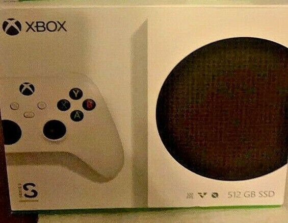 Microsoft Xbox Series S 512GB All-Digital Game Console White SHIPS TODAY! NEW