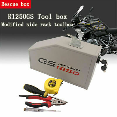 Motorcycle Decorative Aluminum Box Toolbox For BMW R1250GS LC Adventure 2019