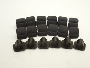 Audi-A8-D3-18-Under-Bonnet-Insulation-Holding-Clips-Fasteners