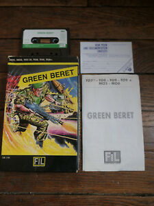 jeu mo5 to7 70 green beret fil ebay ebay
