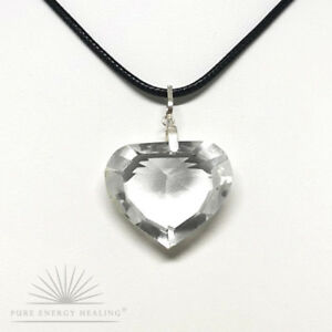 Clear-Quartz-Crystal-Faceted-Heart-Pendant-2-5cm-1-0inch-Crystal-Casa-Brazil
