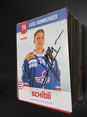 73955 Luca Boltshauser Eishockey original signierte Autogrammkarte