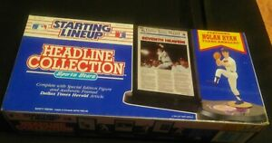 Starting Lineup Headline Collection Nolan Ryan Texas Rangers