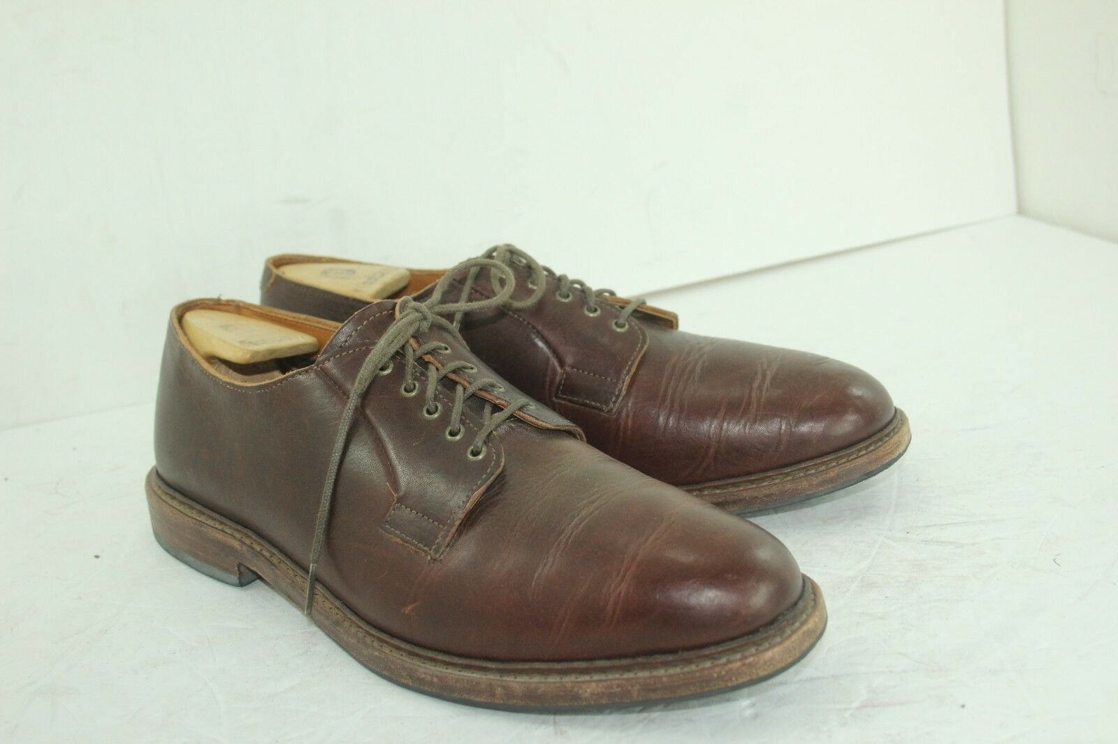 ALLEN EDMONDS CITY RAPID CITY EDMONDS SZ 11 D LEATHER MADE IN USA IN GREAT CONDITION 3ec2f7