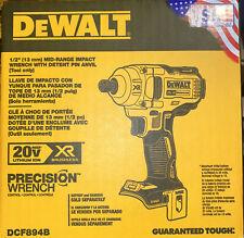 New Listingdewalt Dcf894b 20v Max Xr Bl Li Ion 12 In Mid Range Impact Wrench New