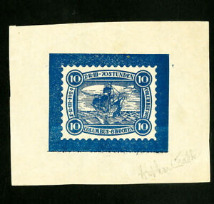 Germany-Stamps-Rare-signed-essay