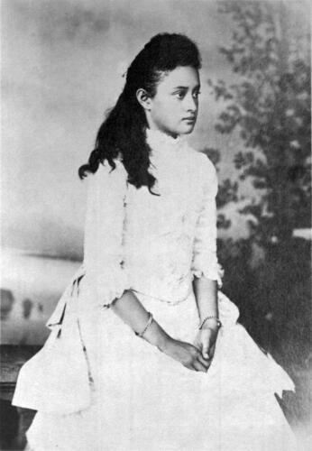 Old Photo Hawaii Crown Princess Victoria Kaʻiulani