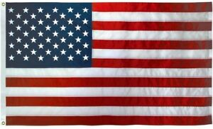 American-US-50-Star-Flag-3x5-ft-Printed-Star-Field-Lightweight-Print-Polyester