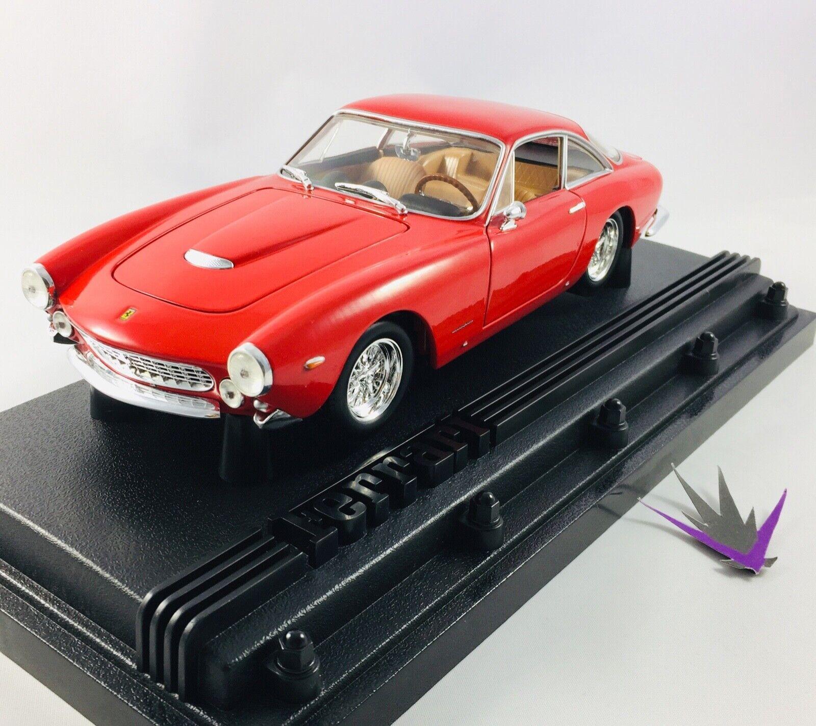 Ferrari 250 Gt Berlinetta Hot Wheels 1 18 con Box