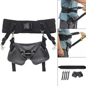 Fishing-Fighting-Big-Fish-Stand-Up-Back-Harness-Belt-Waist-Gimbal-Pad-Rod-Holder