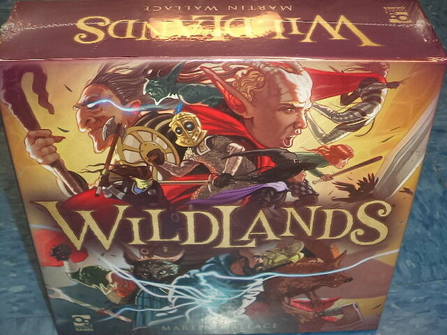 Wildlands - Osprey Games Board Game New