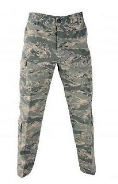 US Air Force ABU Nyco USAF Digital Tigerstripe Army tiger stripe Pantalon Pants 32 L