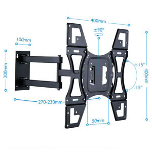 tv wall mount removable face plate swing arm quick disconnect for 22 50 led lcd 8438669451154. Black Bedroom Furniture Sets. Home Design Ideas