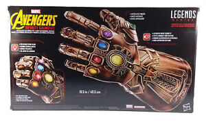 Série Marvel Avengers Legends Thanos Infinity Gauntlet Articulated Electronic