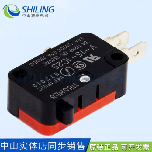 V-15-1C25 micro switch foot switch core inner core of Dafeng 6A 250V