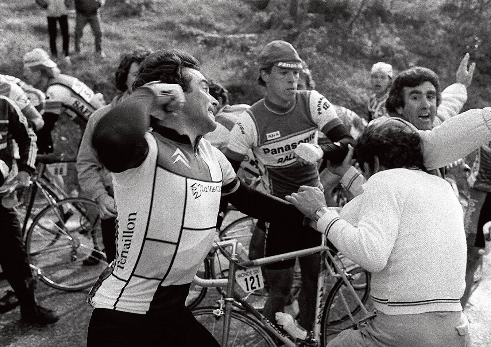 Bernard Hinault Hinault Hinault Français Cycliste Légende AFFICHE c87a40