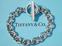 Tiffany & Co Sterling Silver 1837 Toggle 7.5 Inch Bracelet