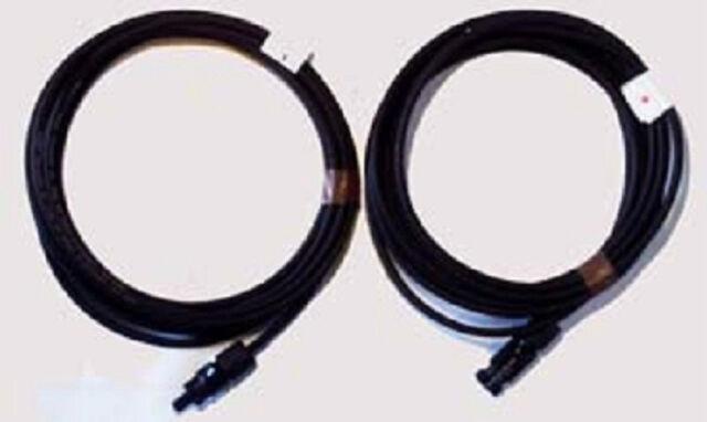 Pair MC4 Couplers + 2 x 5 m Professional, Flexible, Solar Cable