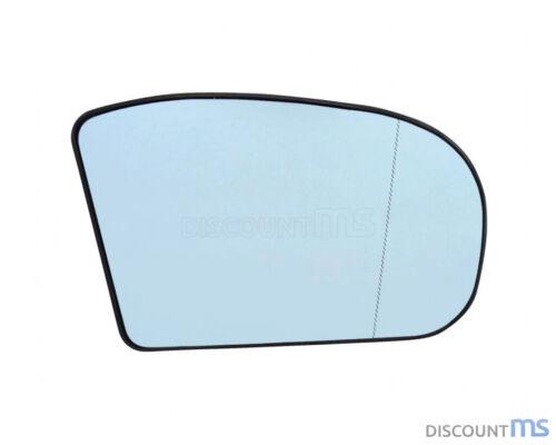 Vidrio pulido derecha azul asphärisch calefactable para mercedes a2108100821