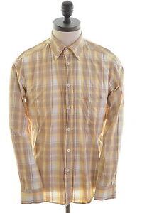 Carrera-Mens-Shirt-Medium-Multi-Check-Cotton