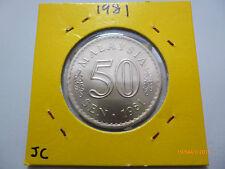 Malaysia 50 Sen 1981 - Gem BU