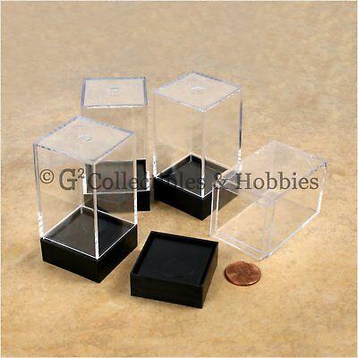 Plastic Figure// Dice Small Display Box Case 1x1x2 with foam 100 pcs