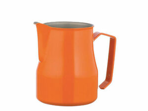 Lattiera Bar Barista Motta Colore Arancio Caffe' Cappuccino Capacita' 75 Cl à Distribuer Partout Dans Le Monde
