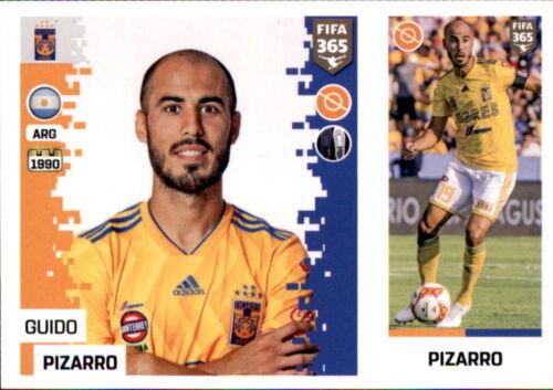 Tigres Uanl Guido Pizarro Panini FIFA365 2019 Sticker 391 a//b