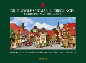 Dr-Rudolf-Spitaler-in-Creglingen-Modellbau-Made-in-U-S-Zone-1946-53-RS-Spitaler