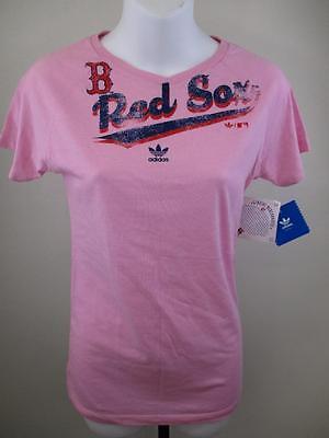 Weitere Ballsportarten Unparteiisch New-minor Flaw-red Sox Distressed Print Jugendliche Mädchen Groß 14/16 Pink Top