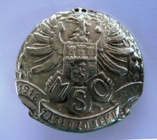 Obsolete Polish Lwow Municipal Police WWI meritorous service badge rare