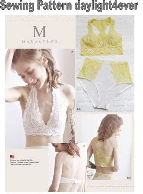 e730e0fd1f Simplicity Pattern 8228 Misses Soft Cup Bras and Panties for sale ...