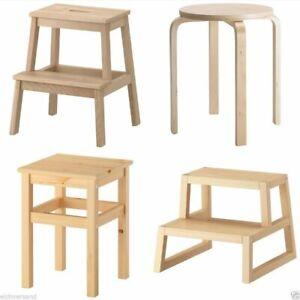Ikea Hocker Tritthocker Stufenhocker Oddvar Frosta Bekvam Molger Holzhocker Ebay