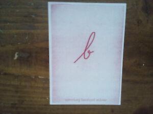 SéRieux Exlibris Bookplate De Ne Stübner-afficher Le Titre D'origine ModéLisation Durable