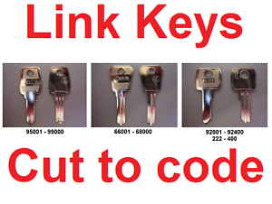 Replacement Link Keys Cut to Code /& Desks Lockers FREE P/&P Filing Cabinets