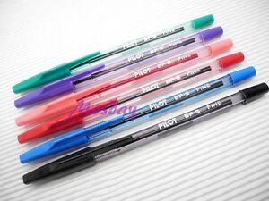 6-Colors-Set-Pilot-BP-S-0-7mm-Fine-Oil-Based-Ball-Point-Pen